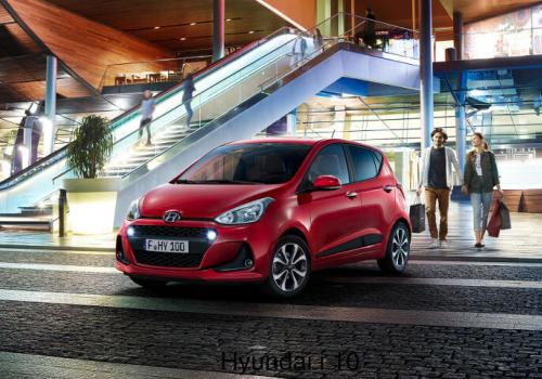 Rent a car in Corfu - Hyundai i10 - SidariRentals