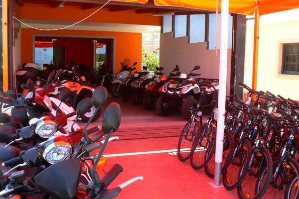 Sidari Rentals' Fleet - Hire a bicycle, scooter, quad bikes, buggie or motorbike in Corfu